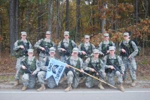 Ranger Challenge Team 2012